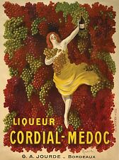 Liqueur Cordial By Leonetto Cappiello Vintage Advertising CANVAS PRINT 24x32 in.