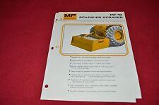 Massey Ferguson 18 Scarifier Scraper Dealer's Brochure Lcoh
