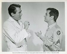 TONY CURTIS GREGORY PECK CAPTAIN NEWMAN, M.D. 1963 VINTAGE PHOTO ARGENTIQUE N°1