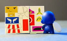 Marvel Micro Munny Vinyl DIY Munnyworld Kidrobot Captain America