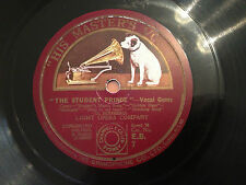 """LIGHT OPERA COMPANY """"The Student Prince""""/""""The Desert Song"""" 78rpm 12"""" 1927 EXC"""