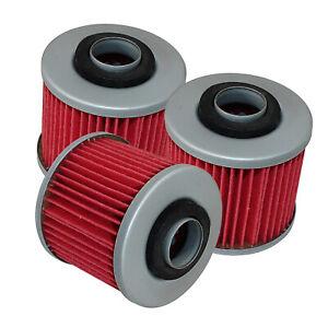 for Yamaha XT250 Xt400 XT500 XT550 XT600 Oil Filter 3-Pack