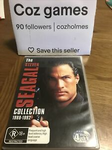 Steven Seagal The Collection 1988-1992 Dvd Oz Release Under Siege/hard To Kill