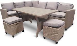 Tulum 8 Seat Lounge and Dining Set