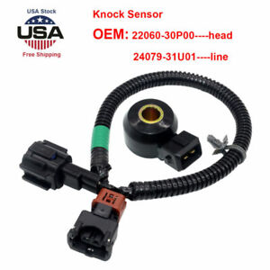 Knock Sensor for Infiniti 240SX 91-98 Set of 2