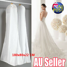 Extra Large Wedding Dress Bridal Gown Garment Breathable Cover Storage Bag MN
