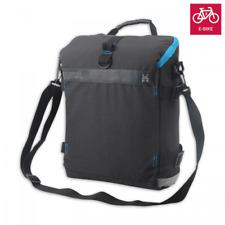 E-Bike Fahrradtaschen Fahrrad Gepäckträgertasche Fahrradtaschen Schwarz mit Gurt
