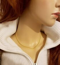Beauty Chain Yellow Gold Filled Costume Necklaces & Pendants