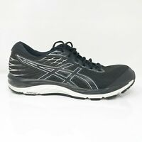 Asics Mens Gel Cumulus 21 1011A551 Black White Running Shoes Lace Up Size 11.5