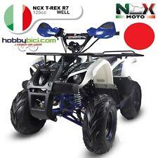 MINI QUAD MOTO NCX T-REX R7 125cc Motore: 4 tempi Monocilindrico ROSSO