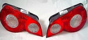 BMW E85 Z4 Roadster 2003-2005 Genuine Red and White EUROPEAN Taillights OEM NEW
