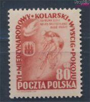 Polen 800 postfrisch 1953 Radfernfahrt (8112253