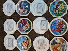 The Flintstones Franklin Mint Collector Plates - Complete set of 6 Plates