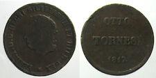 *TRIU* NAPOLI Ferdinando I  8 TORNESI 1817 raro