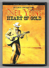 DVD / NEIL YOUNG HEART OF GOLD EDITION COLLECTOR (MUSIQUE CONCERT)
