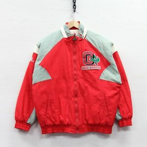 Vintage Ohio State Buckeyes Apex One Puffer Jacket Medium 90s NCAA Insulated
