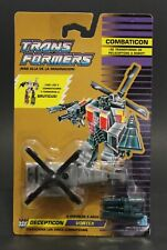 1986 Hasbro Transformers G1 Combaticons VORTEX helicopter in Sealed card MOSC