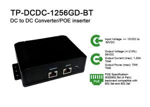 Tycon Power 10VDC to 60VDC 802.3bt PoE Inserter TP-DCDC-1256GD-BT FAST SHIP