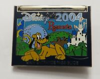 Disney 2004 Resorts Pluto Hinged Purple Insert Pin