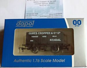 Dapol Limited Edition - 8-Plank Open Wagon, Cropper, Burneside/Kendal  - New(00)