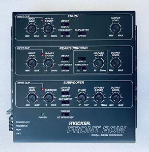 KICKER 12ZXDSP1 6-Channel Digital Signal Processor