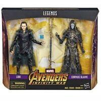 Marvel Legends Infinity War Corvus Glaive & Loki 2 Pack