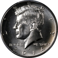 2014-P Kennedy Half Dollar PCGS SP66 UNC Set First Strike JFK Label - STOCK