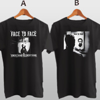 Face to Face American Punk Rock Band New Cotton T-Shirt