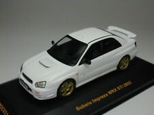 IXO 1:43 Subaru Impeza WRX STI 2003 White from Japan