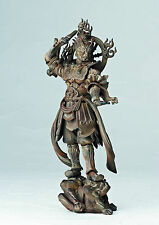 Revoltech Takeya Takayuki Kaiyodo Buddhist Statue Wooden Collection Zochouten 04