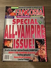 Vintage 1992 Fangoria Magazine Issue #116 (Anne Rice,Buffy,Dark Shadows,Dracula)