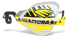 """Cycra Probend CRM Factory Handguards 7/8"""" Bars White / Yellow Shields Pair NEW"""