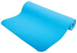 Schildkröt Yoga Mat - blaue 4mm Jogamatte, Fitness Matte, Pilatesmatten,PFC frei