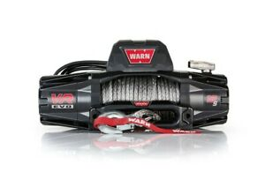 Warn VR EVO 12-S - 27m synthetic rope with 2in1 wireless remote