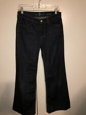 Ladies Seven For All Mankind Ginger Wide Leg Jeans Size 28 X 28