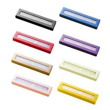 Single Transparent Pen Box Case For Complement Finish Pen Project paper material