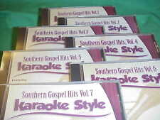 Southern Gospel Hits Volume 2 Christian Karaoke Style CD G Daywind 6 Songs