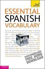 Essentiel Espagnol Vocabulary: Teach Yourself par Mike Zollo LIVRE DE POCHE 97