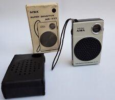 AIWA AR-777  Pocketable RADIO - Transistors Vintage!  FULL WORKING ORDER