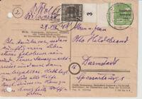 SBZ, Mi. 185 Rand, 182 UR, Berlin-Charlottenb., 30.8.48