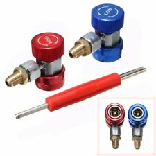 R134A High Low Quick Adapter Coupler Connector A/C Manifold Gauge & Remover  ✔
