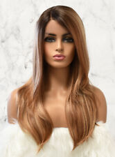 LAYERED STRAIGHT DEEP PART LACE FRONT PREMIUM SYNTEHTIC WIG - ASIA - HERA REMY