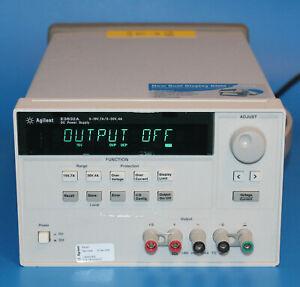 Agilent E3632A DC Power Supply 120W Dual Range: 15V/7A; 30V/4A / Barely used