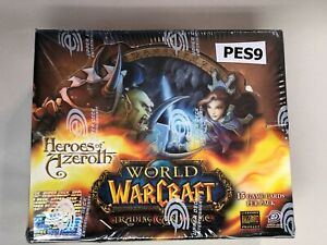 WOW TCG - Factory sealed English Heroes of Azeroth booster box