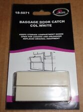 RV - Baggage Door Catchs, 2 Pack, COLONIAL WHITE