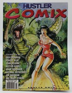 Adult Comix Magazine Hector Gomez Cover & Art Gray Morrow Heebink Sherman VF/NM