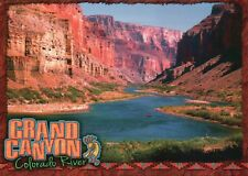 Grand Canyon Arizona, Colorado River Whitewater Rapids National Park AZ Postcard