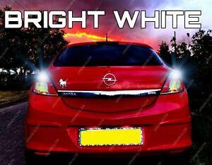 For Vauxhall Astra H Opel VXR 2004-2010 White LED Reverse Light Bulbs