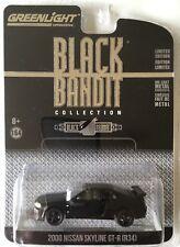 NEW 2017 Greenlight BLACK BANDIT 2000 NISSAN SKYLINE GT-R (R34) SPORTS COUPE!