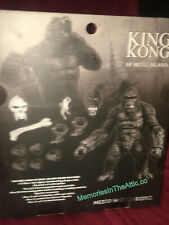 "MEZCO Toyz KING KONG Black White 1932 Movie PX ACTION FIGURE Ann Darrow 7"" NEW"